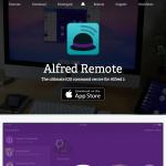 iPhone,iPadからPCを操作できるAlfred Remote